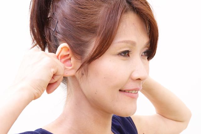 耳引張りエクササイズ1